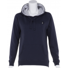 Petite Blue Top with Dotty Lined Hood