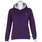 Petite Purple Top with Dotty Lined Hood