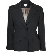 Petite Black Wool Mix Jacket - Matching Trousers Available