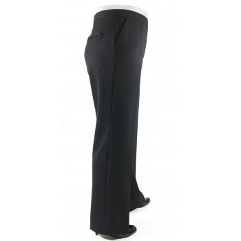 Short Couture Petite Jet Black Smart Trousers